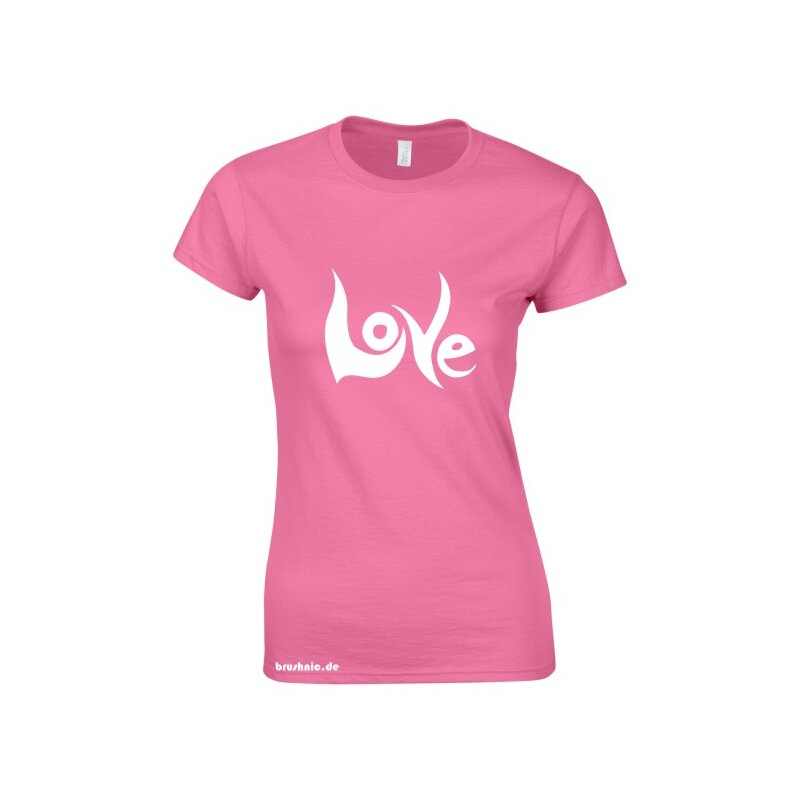 Love Softstyle Ladies T- Shirt