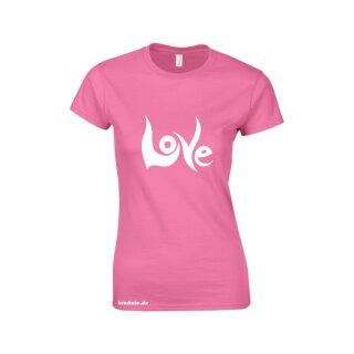 """Love"" Softstyle Ladies T- Shirt"