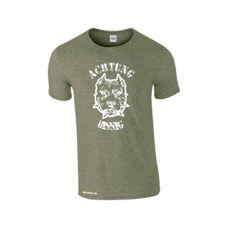 """""""Achtung bissig"""" Fun T-Shirt"""
