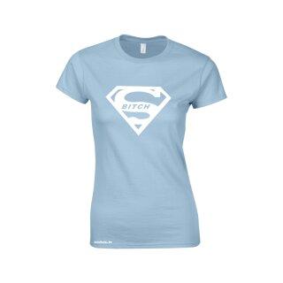 """""""Super Bitch"""" Women Fun Shirt"""