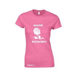 """""""Mauerblümchen"""" Women Fun Shirt"""