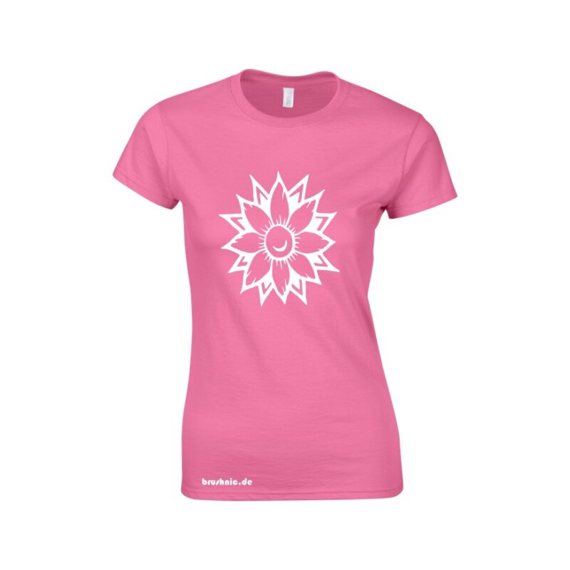 Flower Softstyle Ladies T- Shirt