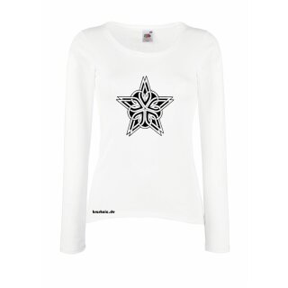 """Tribalstar"" Long sleeve Design Shirt"