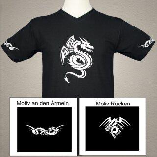 Tribal Drachen T-Shirt