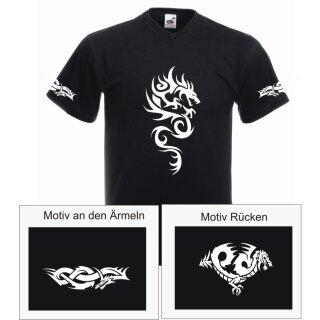 Tribal Drachen T-Shirt No.4