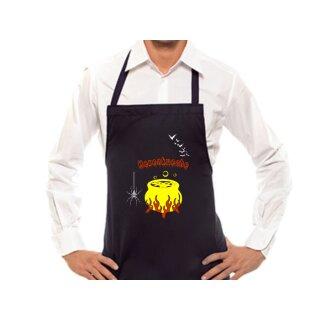 Kochschürze -Hexenküche- optional mit individuellem Namen