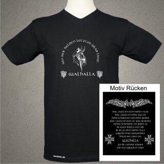 Walhalla Wikinger T-Shirt beidseitig bedruckt - XL - Valhalla