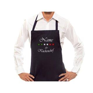 Kochschürze Küchenchef mit individuellem Namen