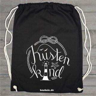 Turnbeutel Küstenkind - Handlettering